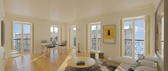 Salon appartement Graça - LGC Immobilier Sàrl